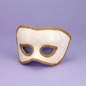 Adult Karneval Beige Mask