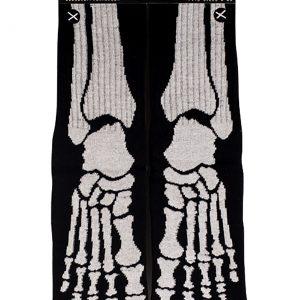 Adult Knit Skeleton Socks
