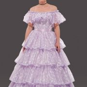 Adult Lacy Southern Belle Costume - Lilac