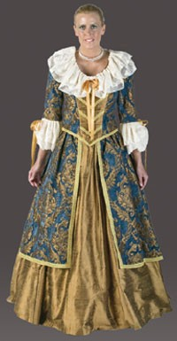 Adult Lady Mozart Costume