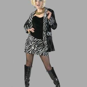 Adult Lady Pimp Costume Black