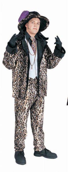 Adult Leopard Pimp Suit Costume