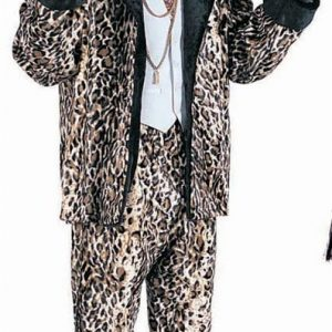 Adult Leopard Pimp Suit Costume