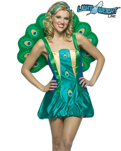 Adult Lightweight Peacock Costume