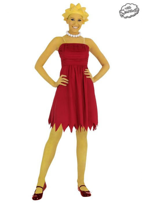 Adult Lisa Simpson Costume