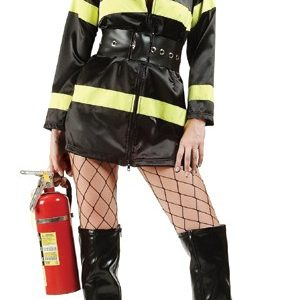 Adult Long Sleeve Sexy Fire Fighter Costume