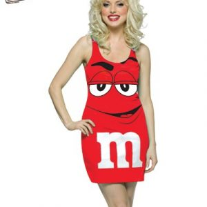 Adult M&M's Red Tank Dress