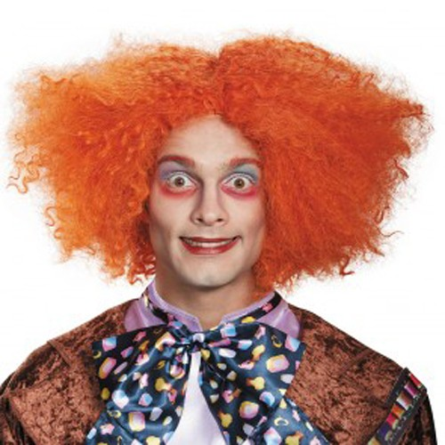 Adult Mad Hatter Deluxe Wig