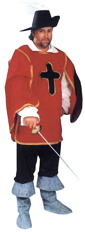 Adult Male Cavalier Costume