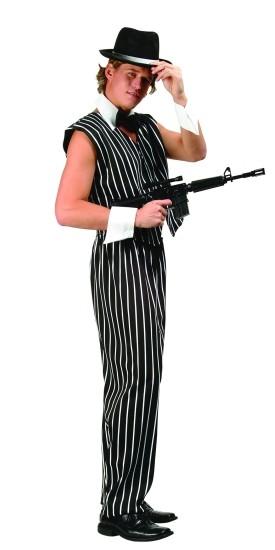 Adult Manly Mobster Costume