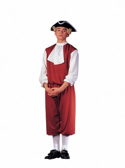 Adult Man's Colonial Costume