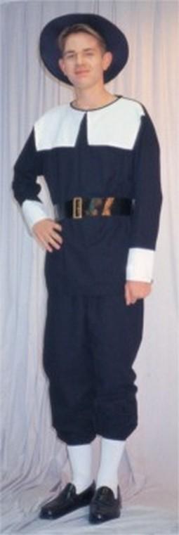 Adult Man's Pilgrim Costume