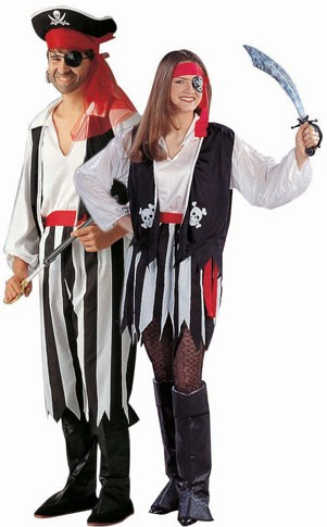 Adult Man's Pirate of the Caribbean Costume