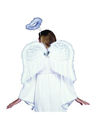 Adult Marabou Angel Wings