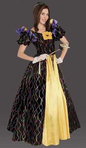 Adult Mardi Gras Confetti Gown