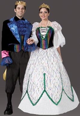 Adult Mardi Gras Confetti Suit