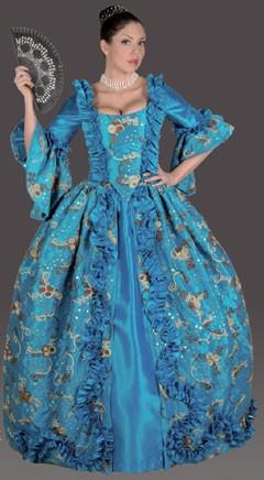 Adult Marie Antoinette Costume (Azure)