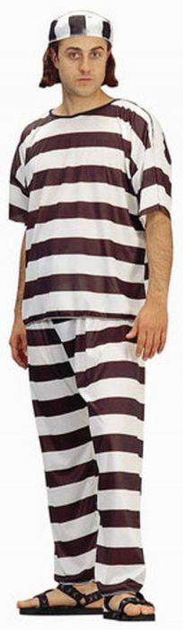Adult Men's Prisoner Costume