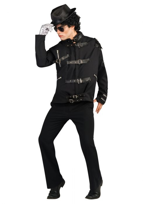 Adult Michael Jackson Deluxe Bad Jacket