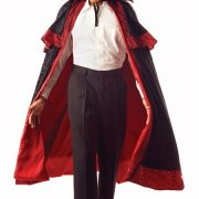 Adult Midnight Carnival Cape w/ Collar