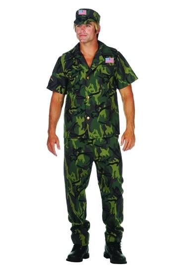 Adult Military Man Costume