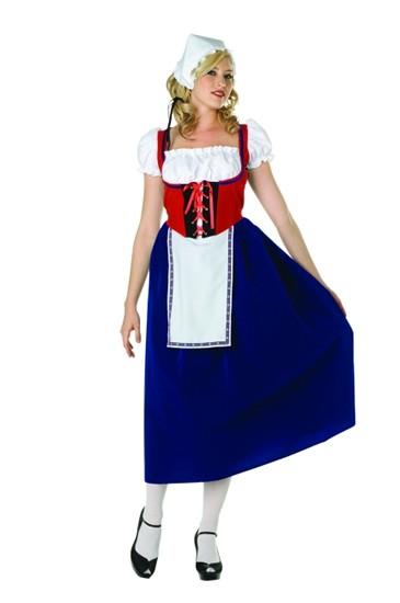 Adult Milk Maid Costume