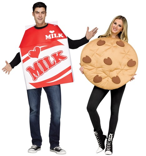 Adult Milk and Cookies Costume