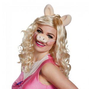 Adult Miss Piggy Wig