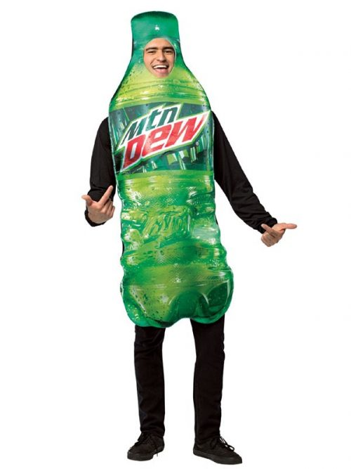 Adult Mountain Dew Bottle Costume