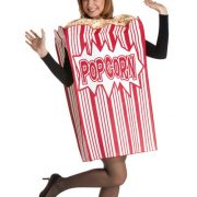 Adult Movie Night Popcorn Costume