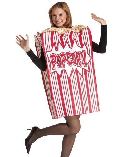 Adult Movie Night Popcorn Costume