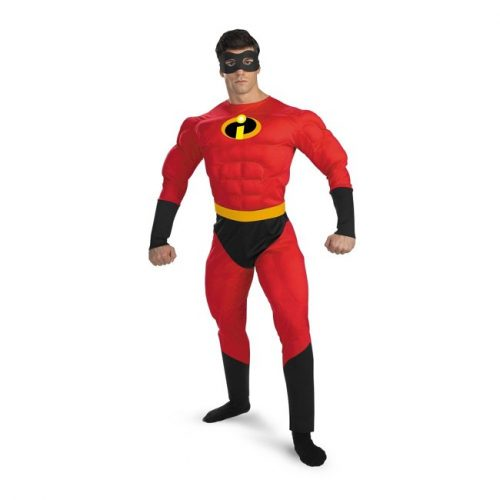 Adult Mr Incredible Deluxe Costume