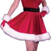 Adult Ms. Santa Baby Costume