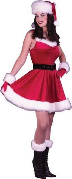 Adult Ms. Santa Baby Costume