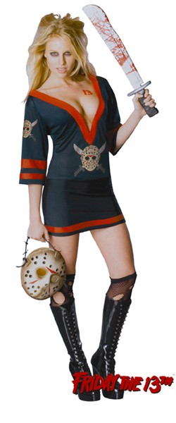 Adult Ms. Voorhees Costume