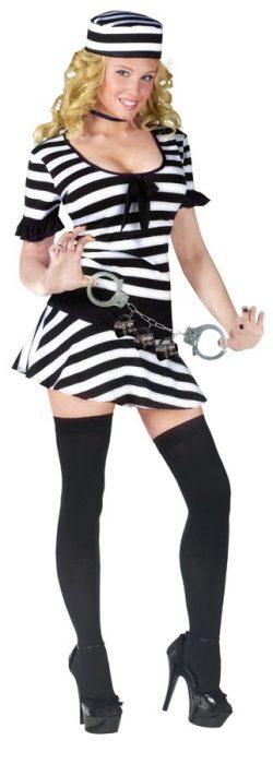 Adult Mug Shot Fantasy Costume