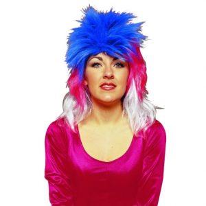 Adult Multi-Color Punk Wig