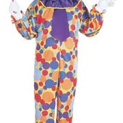 Adult Multi-Colored Clown Costume