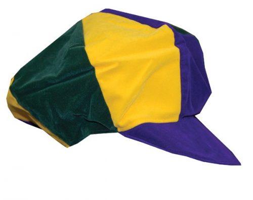 Adult Multi-Stripe Reversible Halloween Cap