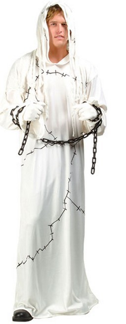Adult Mummy Ghost Costume (Men)