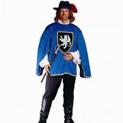 Adult Musketeer Costume - Blue