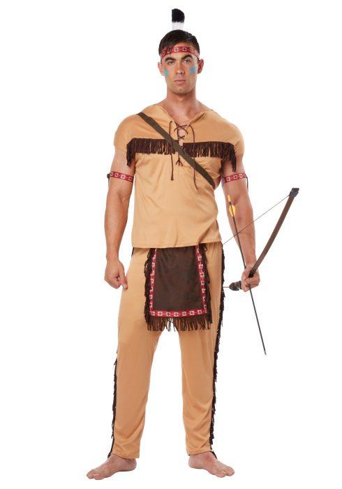 Adult Native American Brave Costume