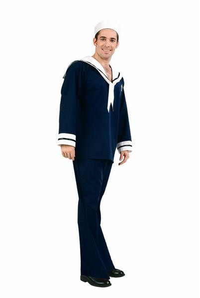 Adult Navy Blue Sailor Costume
