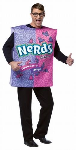 Adult Nerds Box Costume
