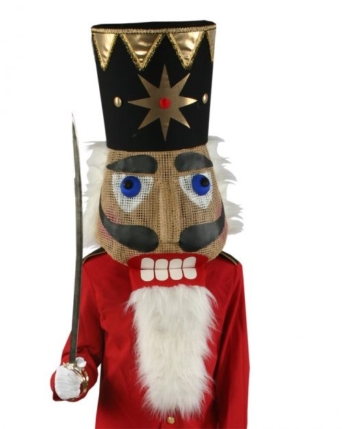 Adult Nutcracker Head Special Mask