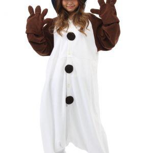 Adult Olaf Pajama Costume