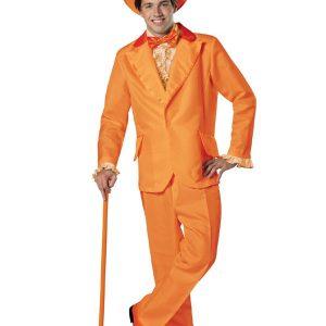 Adult Orange Tuxedo Goofball Costume