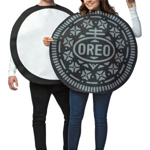 Adult Oreo Cookie Couples Costume