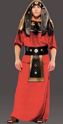 Adult Pharaoh Costume - Burgundy