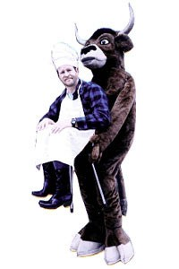 Adult Picnic Steer Costume